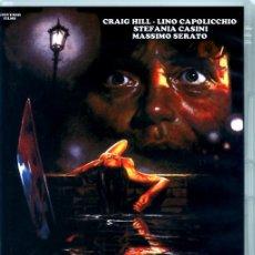 Cine: SOMBRA SANGRIENTA (DVD PRECINTADO IMPORTACIÓN) CRAIG HILL - STEFANIA CASINI - GIALLO DE CULTO. Lote 194875676