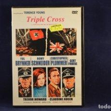 Cine: TRIPLE CROSS - DVD. Lote 177371752