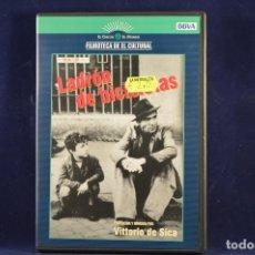 Cine: LADRÓN DE BICICLETAS - DVD. Lote 177381483
