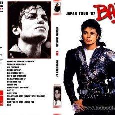 Cine: DVD MICHAEL JACKSON LIVE TOUR BAD JAPON. Lote 177404812