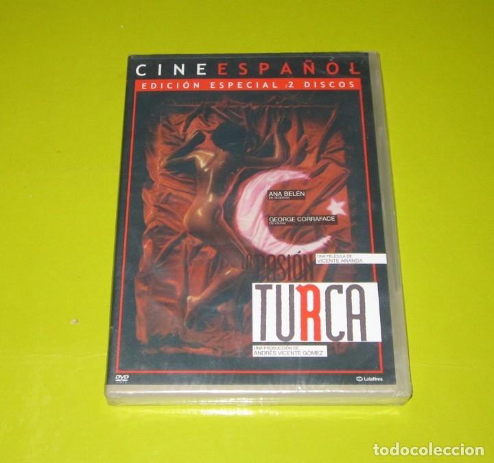 DVD.- LA PASION TURCA (ED.ESPECIAL 2 DVDS) - VICENTE ARANDA - ANA BELEN - NUEVA (Cine - Películas - DVD)
