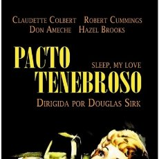 Cine: PACTO TENEBROSO (SLEEP, MY LOVE). Lote 177440803