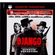 Cine: DJANGO DESENCADENADO (DJANGO UNCHAINED) (ED. LIBRO). Lote 177444259