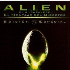 Cine: ALIEN, EL OCTAVO PASAJERO - EDICIÓN ESPECIAL. Lote 177445938