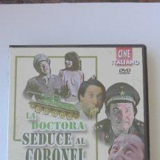 Cine: DVD LA DOCTORA SEDUCE AL CORONEL ALVARO VITALI PRECINTADO MÁS DE 1000 DVDS APROVECHA EL ENVÍO. Lote 177452737