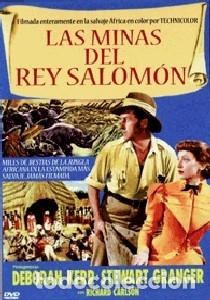 LAS MINAS DEL REY SALOMÓN DE COMPTON BENNETT, ANDREW MARTON ACTORES: STEWART GRANGER, DEBORAH KERR (Cine - Películas - DVD)