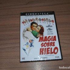 Cine: MAGIA SOBRE HIELO EDICION ESPECIAL DVD + LIBRO JOAN CRAWFORD JAMES STEWART NUEVA PRECINTADA. Lote 243546925