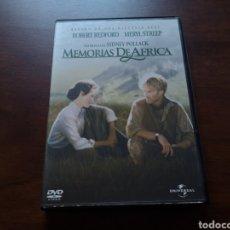 Cine: MEMORIAS DE ÁFRICA CON ROBERT REDFORD Y MERYL STREEP, COLECC GRANDES PREMIOS DE HOLLYWOOD. Lote 177498728