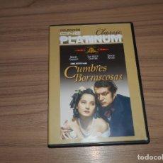 Cine: CUMBRES BORRASCOSAS DVD. Lote 177502104
