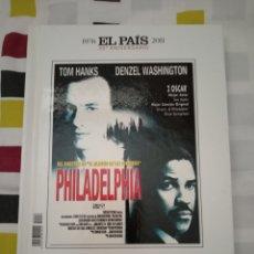 Cine: DVD. PHILADELPHIA. DVD+LIBRO CON LA HISTORIA GRÁFICA DE 1993.. Lote 177508922