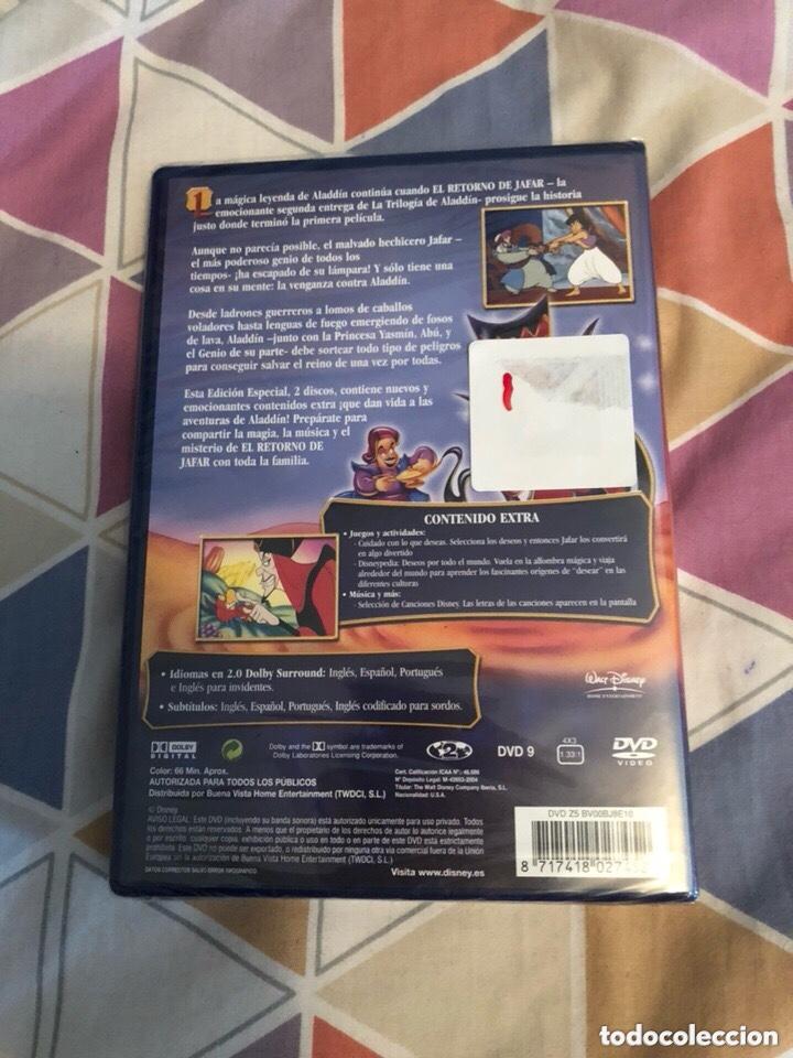 Cine: El retorno de jafar ediccion especial dvd descatalogado y precintado - Foto 2 - 177512595
