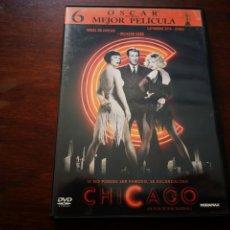 Cine: CHICAGO CON RENÉE ZELLWEGER, RICHARD GERE Y CATHERINE ZETA JONES. GRANDES PREMIOS DE HOLLYWOOD. Lote 177639129