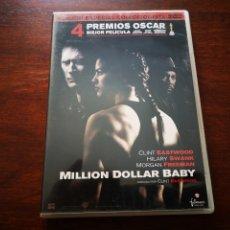 Cine: MILLION DOLLAR BABY CON CLINT EASTWOOD, MORGAN FREEMAN Y HILARY SWANK. EDICIÓN COLECCIONISTAS 2 DVD. Lote 177639904