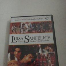 Cine: LUISA SANFELICE DVD NUEVO. Lote 177645398