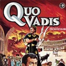 Cine: QUO VADIS - ROBERT TAYLOR,DEBORAH KERR,ROSALIE CRUTCHLEY DVD NUEVO. Lote 177654147