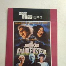 Cinéma: DVD EL JOVENCITO FRANKENSTEIN. Lote 177687597