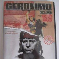 Cine: 2 DVD GERONIMO APACHE BURT LANCASTER. Lote 177701973