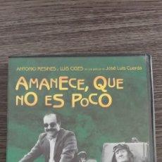 Cine: AMANECE QUE NO ES POCO DVD. Lote 177739814