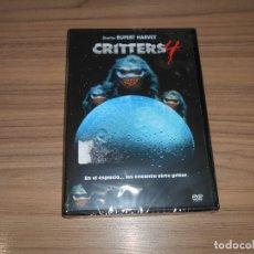 Cine: CRITTERS 4 DVD NUEVA PRECINTADA. Lote 195148321