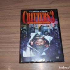 Cine: CRITTERS 3 DVD NUEVA PRECINTADA. Lote 195148335
