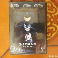 Cine: BATMAN VUELVE. DVD. TIM BURTON.. Lote 177831254