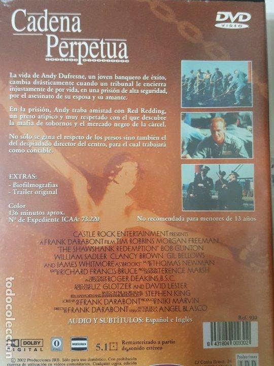 Cine: CADENA PERPETUA (DVD) - Foto 2 - 177833077