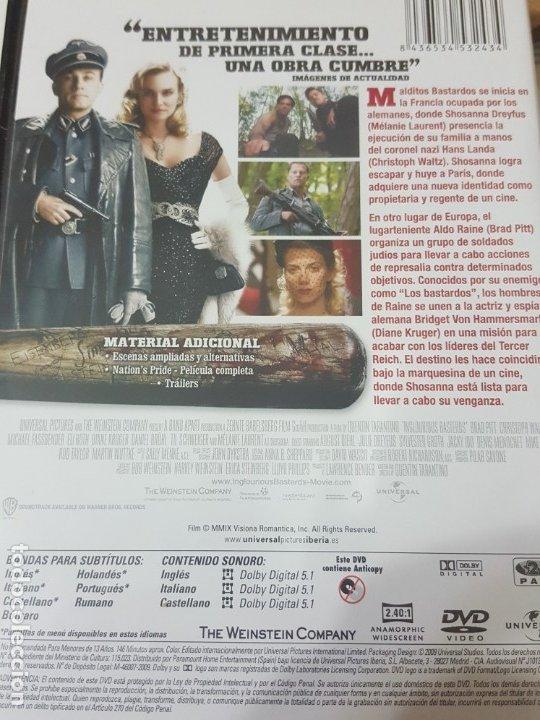 Cine: MALDITOS BASTARDOS (DVD) - Foto 2 - 177833149