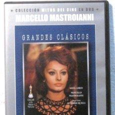 Cine: MATRIMONIO A LA ITALIANA - MARCELLO MASTROIANNI Y SOFIA LOREN - DVD . Lote 177880459