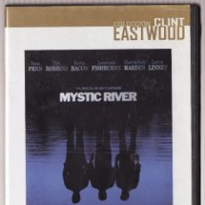 Cine: DVD MYSTIC RIVER CLINT EASTWOOD SEAN PENN TIM ROBBINS. Lote 177892529