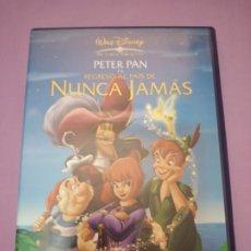 Cine: DVD. PETER PAN. REGRESO AL PAÍS DE NUNCA JAMÁS. DISNEY.. Lote 177934399