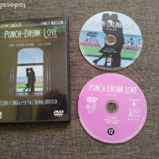 Cine: DVD PUNCH DRUNK LOVE - EMBRIAGADO DE AMOR - ADAM SANDLER - EMILY WATSON. Lote 177935590
