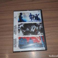 Cine: PACK 3 DVD LA CASA DE LOS 1000 CADAVERES - LA NOCHE MUERTOS VIVIENTES - IZO TERROR NUEVA PRECINTADA. Lote 218456357