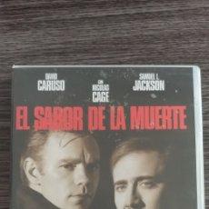 Cine: EL SABOR DE LA MUERTE DVD. Lote 177937709