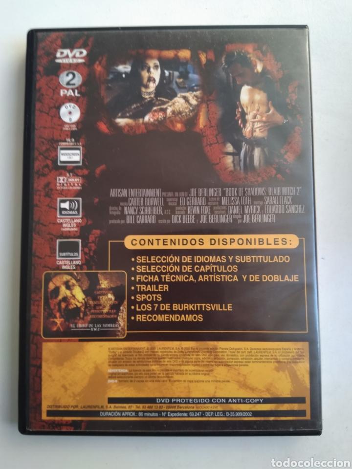 Cine: DVD EL LIBRO DE LAS SOMBRAS BW 2 - Foto 3 - 177963984