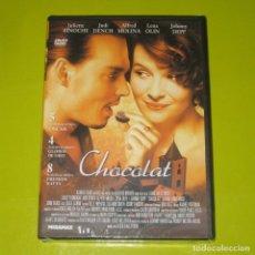 Cine: DVD - CHOCOLAT - JOHNNY DEPP - DESCATALOGADA - PRECINTADA. Lote 177965153