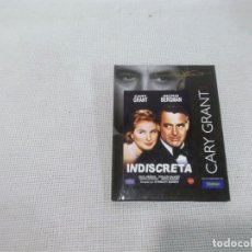 Cine: INDISCRETA - CARY GRANT- INGRID BERGMAN - DVD. Lote 177973970