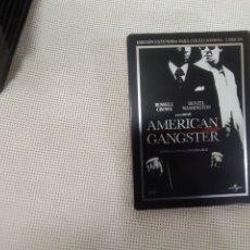 Cine: AMERICAN GANGSTER - RUSSELL CROWE - DENZEL WASHINGTON - DVD. Lote 177974238