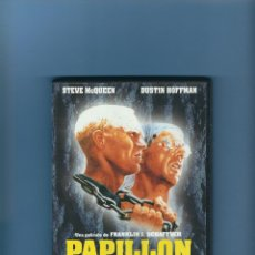 Cine: DVD - PAPILLON - DUSTIN HOFFMAN Y STEVE MCQUEEN. Lote 178007043