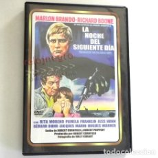 Cine: LA NOCHE DEL DÍA SIGUIENTE DVD PELÍCULA SUSPENSE MARLON BRANDO BOONE RITA MORENO FRANKLIN CORNFIELD. Lote 178026548