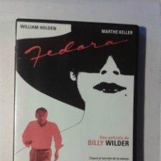 Cine: FEDORA DE BILLY WILDER DVD . Lote 178064042