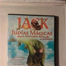 Cine: JACK Y LAS JUDIAS MAGICAS DVD. Lote 178104244