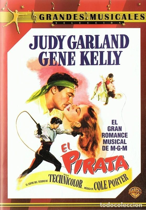 EL PIRATA JUDY GARLAND & GENE KELLY (Cine - Películas - DVD)