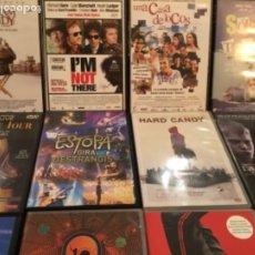 Cine: LOTE DE 15 DVDS. Lote 178120608