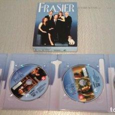 Cine: FRASIER / LA CUARTA TEMPORADA COMPLETA / 4 DVD. Lote 178213596