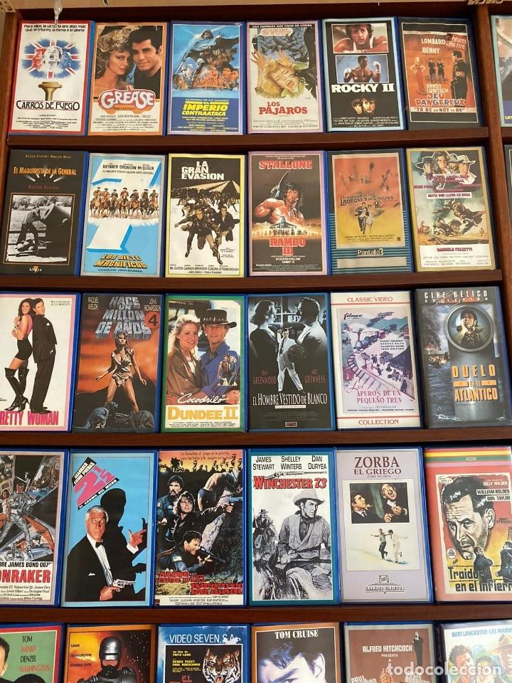 Cine: LOTE DE MAS DE 1500 PELICULAS EN VHS - Foto 2 - 178219077