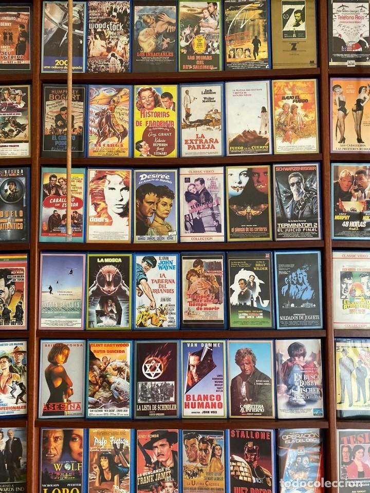 Cine: LOTE DE MAS DE 1500 PELICULAS EN VHS - Foto 12 - 178219077