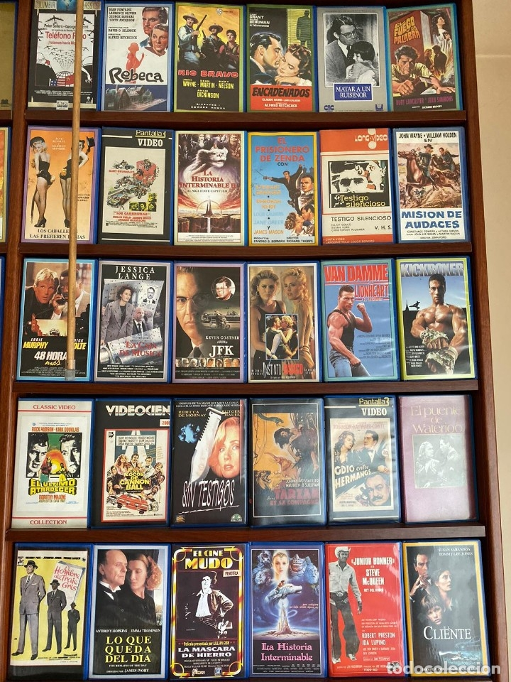 Cine: LOTE DE MAS DE 1500 PELICULAS EN VHS - Foto 13 - 178219077
