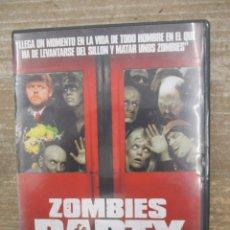 Cine: DVD - ZOMBIES PARTY - PEDIDO MINIMO 4 PELICULAS O PEDIDO MINIMO DE 10€. Lote 178263220