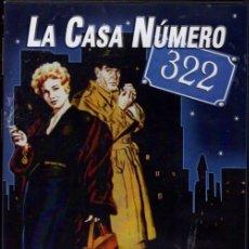 Cine: LA CASA NUMERO 322 DVD (KIM NOVAK) ..SUPER-DESCATALOGADO E... INENCONTRABLE. Lote 178271441