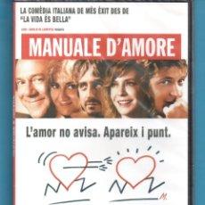 Cine: DVD TITULO MANUALE DÀMORE PRESINTADA SIN ESTRENAR . Lote 178304407